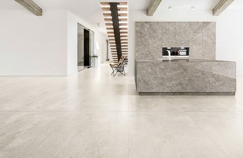 Neue Insprirationen für den minimalistischen Stil: CON.CREA. und Blend.HT Ariostea