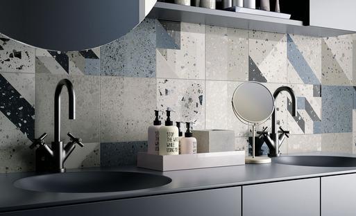 Verkleidungen Arqui und Bowl von IRIS Ceramica: Fantasie und Eleganz in den Räumen des Alltags