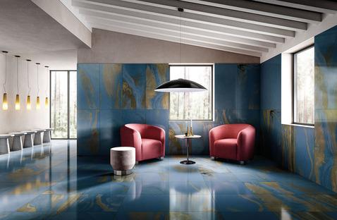Diesel Living with Iris Ceramica: Die neuen Designeffekte Cosmic Marble