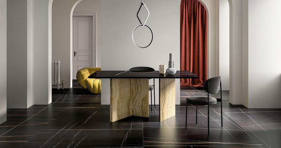 Fiandre Architectural Surfaces: Marmi Maximum für klassische und zeitgenössische Räumlichkeiten
