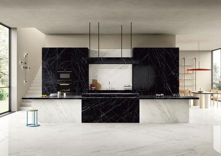 Noir und Dark Marquina: Die dunklen Küchenarbeitsplatten von SapienStone