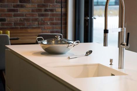 Exklsuive und maßgeschneiderte Projekte mit den Küchenarbeitsplatten SapienStone