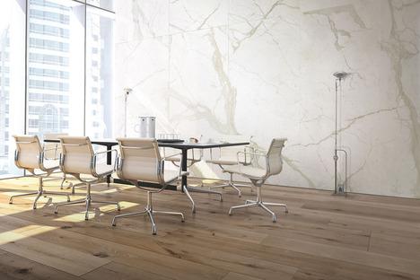 Böden, Wandverkleidungen und Designanwendungen mit Ultra Marmi Ariostea