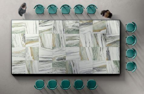 Die Schönheit des Ganzen und der Charme der Details: Die Oberflächen Liquid Cosmo und Cosmic Marble