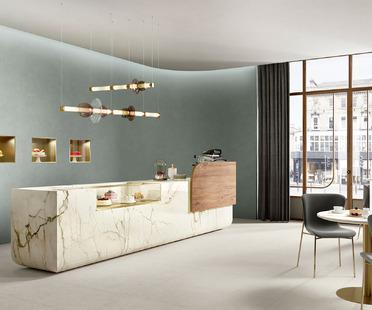 Klassik und Gegenwart in den neuen Küchenumgebungen SapienStone