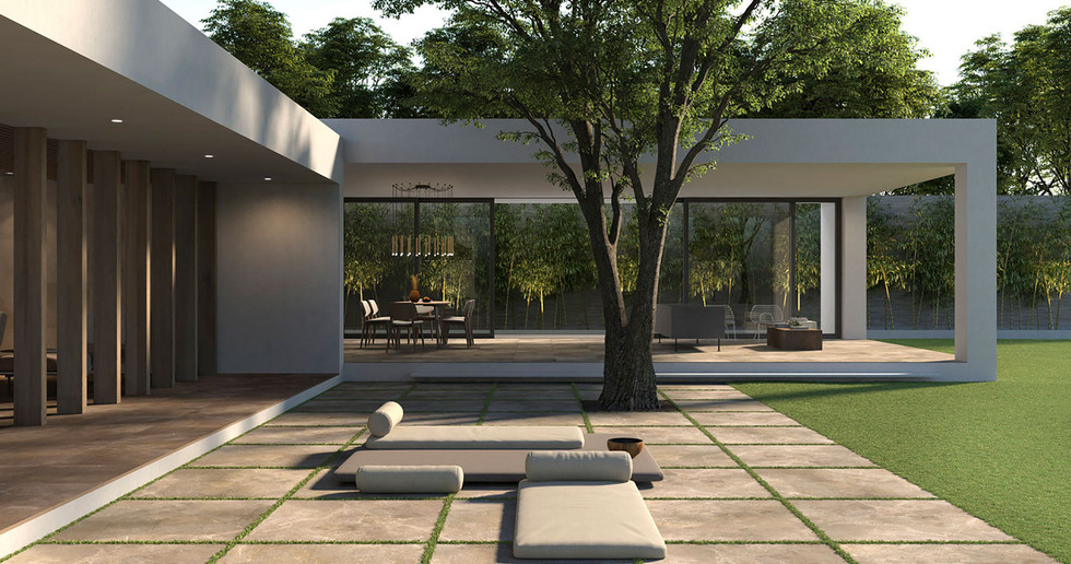 Erneuerung von Böden im Außenbereich: Lösungen von Porcelaingres für den Außenbereich
