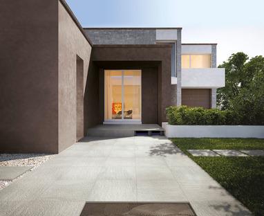 Wie man Außenräume am besten organisiert: Oberflächen aus Feinsteinzeug