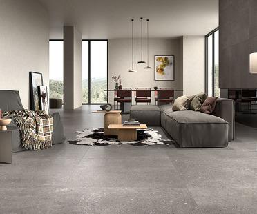 Minimalistisches Design mit nordischer Inspiration: Keramikoberflächen Loft