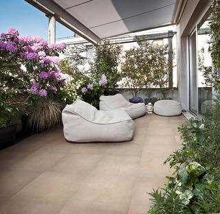 Outdoor als neuer Lebensraum: Lösungen von Iris Ceramica für die freie Natur