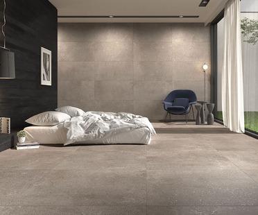 Porcelaingres Loft: von nordischem Design inspirierte Stein- und Betonoberflächen