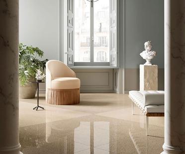 Klassisch und zeitgemäß, immer aktuell und elegant: Veneziano von Fiandre Architectural Surfaces