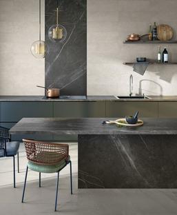 Sicherheit und Hygiene in der Küche: Küchenarbeitsplatten Active Surfaces SapienStone