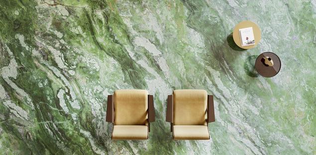 Keramikoberflächen Fiandre: Maßgefertigte Böden, Wandverkleidungen und Einrichtungsgegenstände in Marmoroptik