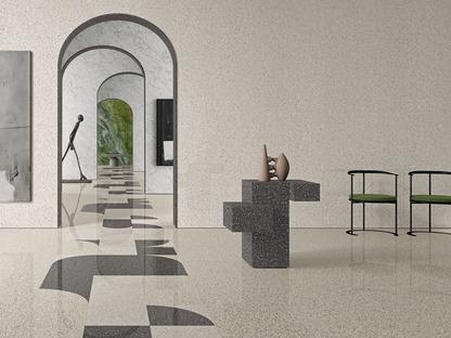 Die alte Kunst des venezianischen Terrazzo: Oberflächen Accademia von Ariostea