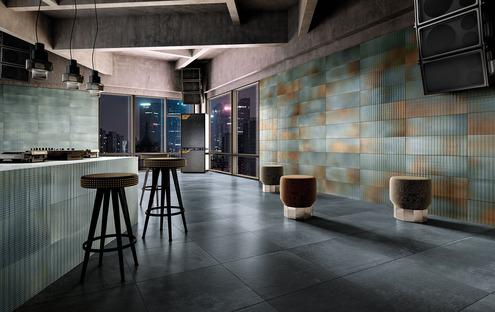 Die Inszenierung von Alltagsräumen: Kreativität und Installationsfreiheit mit den Verkleidungen von Iris Ceramica.