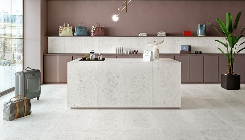 Harmonie und Gleichgewicht zwischen verschiedenen Materialien: die Kollektion Whole von Iris Ceramica