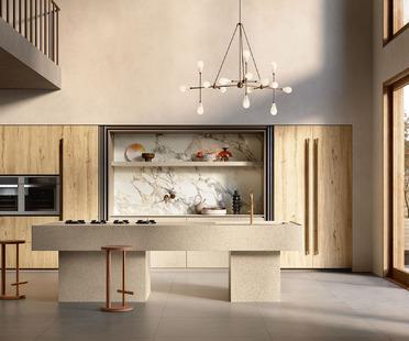 Il Veneziano: neue Oberflächen für die Küche Sapienstone