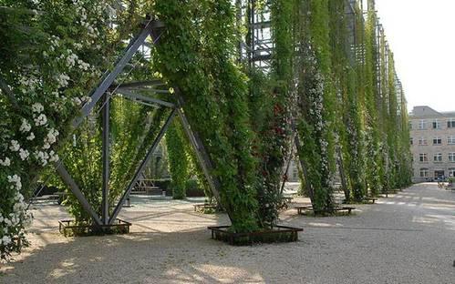 Park MFO Zürich Oerlikon (CH). Sanierung eines ehemaligen Industriegebiets