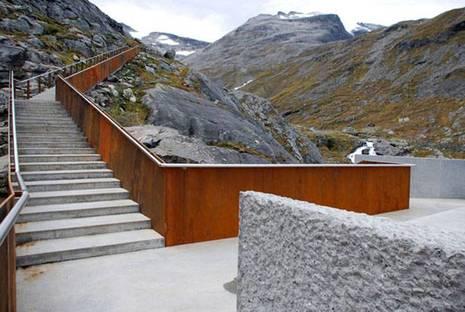 Trollstigen. Projekt: RRA Reiulf Ramstad Architects