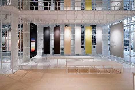 Fußböden und Verkleidungen aus Keramik - Ausstellungsweisen