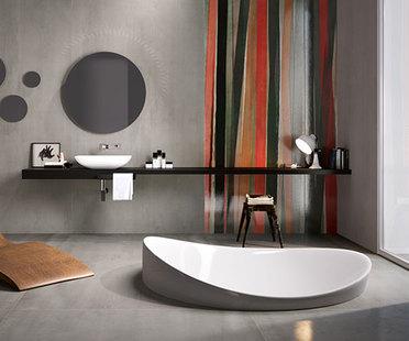 Großformatige Keramikplatten für eine individuelle Raumgestaltung