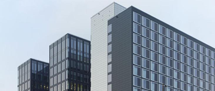 Externe Wandverkleidungen und hinterlüftete Fassaden. Stockholm Waterfront.