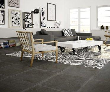 Fußböden und Verkleidungen aus Feinsteinzeug für authentische Innengestaltung voller Details