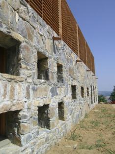 Steinfußböden für einen Sakralbau in der Maremma
