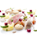 """The ingredients in a refined, elegant dish: """"Cappon magro"""""""