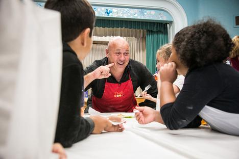 Chef Gino, l'entusiasmo in cucina
