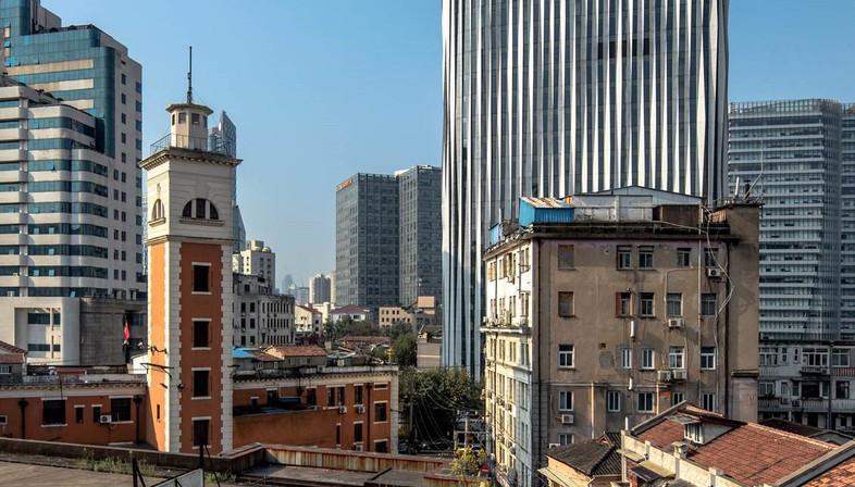 Sonnenschutz aus Aluminium für Kengo Kuma – Shanghai Soho Buliding