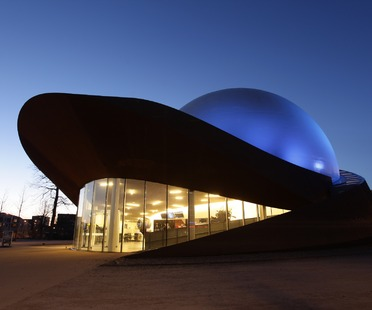 3D-Theater aus Stahl. Das Infoversum von Groningen