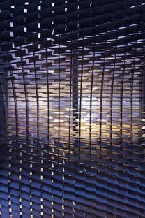 """Pavillon im Lederlook -  """"The Bolt"""" für Shinola von Giles Miller Studio"""