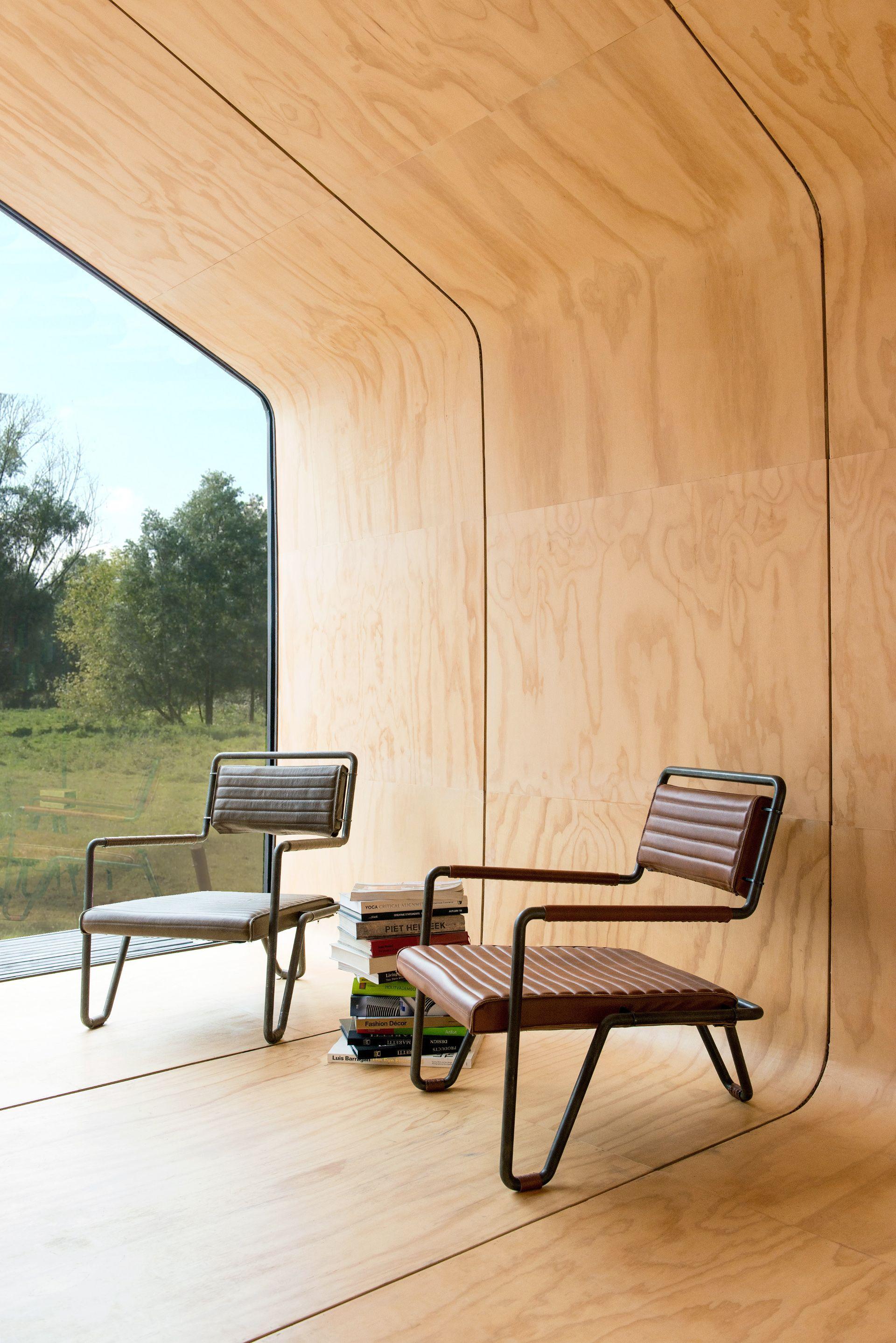 Haus aus Karton und Holz Wikkelhouse | Floornature