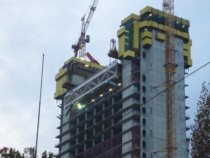 Die Struktur des Allianz Tower in Mailand - Andrea Maffei e Associati
