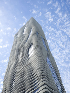 Aqua Tower von Studio Gang in Chicago