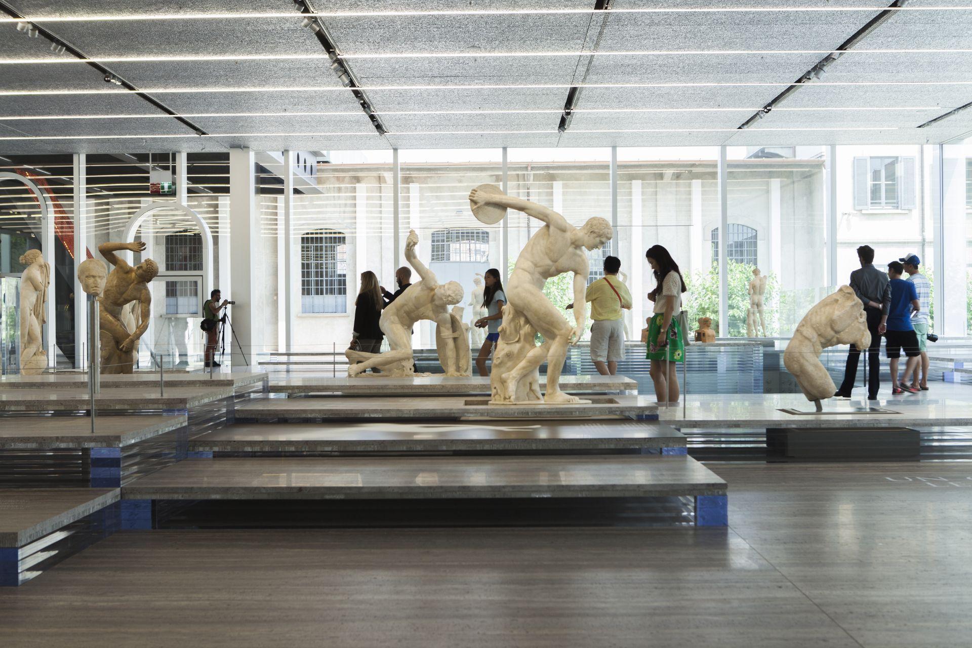 Masterplan der Prada-Stiftung in Mailand von OMA Rem Koolhaas