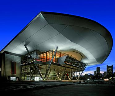 Exibition und Convention Center aus Stahl und Glas von Rafael Viñoly in Boston