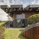 Stahlstruktur für das Dach des Taekwang Country Club Café von Mecanoo