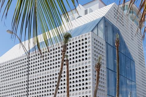 Faena Bazaar und Park im Faena District von OMA in Miami Beach