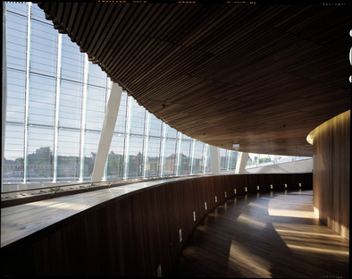 Italienischer Marmor für die norwegische Oper von Snøhetta