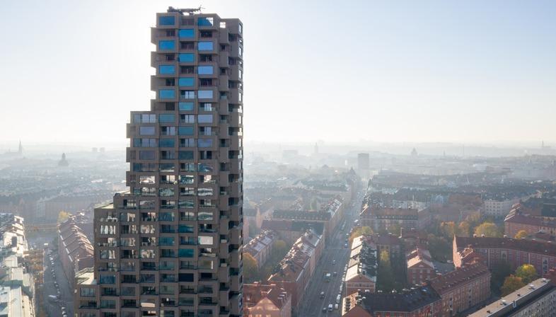 Ein Betonturm in Stockholm von OMA