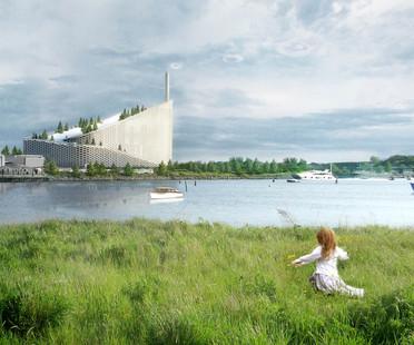 Grüne Philosophie für das Amager Resource Center, die Müllverbrennungsanlage von BIG