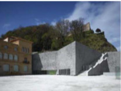 Die Aluminiumguss-Fassade für das Museum von Nieto und Sobejano in San Sebastian