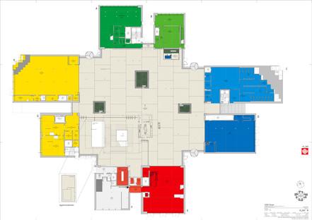 Das Lego House von BIG besteht aus Beton und Stahl.