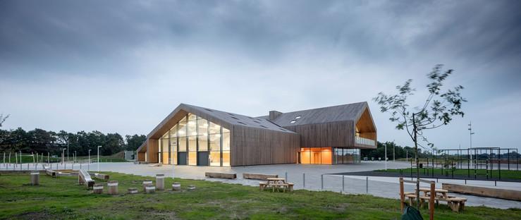 Eine Schule aus Holz von CF Møller