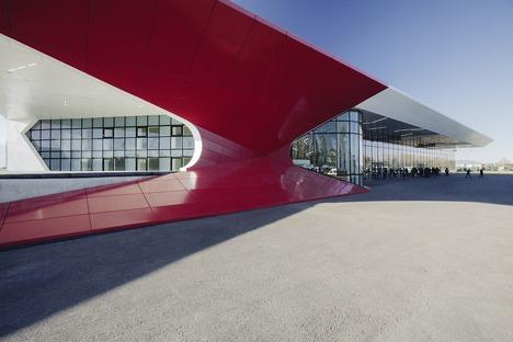Aluminium, Stahl, Glas und Holz für den Flughafen Kutaisi von UNSTUDIO