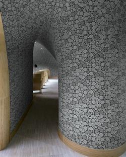 Das Fuzhou Strait Culture and Arts Center aus technischer Keramik von PES ARK