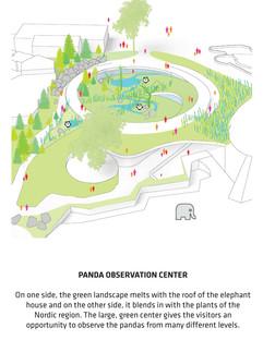 Bambusschalungen für das Panda-Haus Yin und Yang von BIG