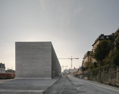 <strong>Das kantonale Kunstmuseum von Lausanne in Backstein von Barozzi Veiga</strong><br />